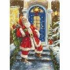 Santa's Visit Cross Stitch Kit