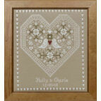 Love Birds Wedding Sampler Cross Stitch Kit