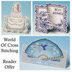 World Of Cross Stitch Special Offer Set Of Cross Stitch Card Kits