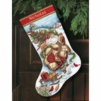 Santa's Journey Stocking Cross Stitch Kit