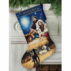 Holy Night Stocking Cross Stitch Kit