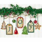 Joy Tag Cross Stitch Ornaments Kit