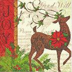 Winter Reindeer Cross Stitch Kit