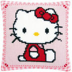 Hello Kitty Chunky Cross Stitch Cushion Kit
