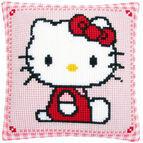 Hello Kitty Chunky Cross Stitch Cushion Kit
