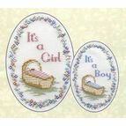 Baby Card Cross Stitch Kit