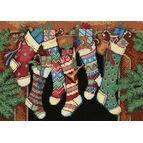 The Stockings Were Hung Cross Stitch Kit