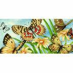Butterfly Vignette Cross Stitch Kit