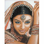 Indian Model Cross Stitch Kit