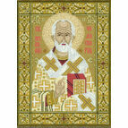 St Nicholas Cross Stitch Kit