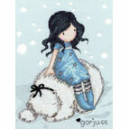 Gorjuss Winter Friend Cross Stitch Kit