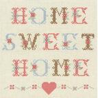 Home Sweet Home Cross Stitch Kit