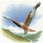 Red Kite in Flight Cross Stitch Kit