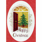 Warm Welcome Cross Stitch Christmas Card Kit