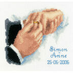 With This Ring Cross Stitch Kit