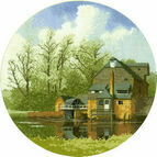 Water Mill Cross Stitch Kit