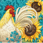 Rooster Cross Stitch Kit