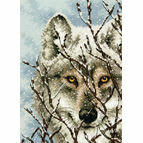 Wolf Cross Stitch Kit