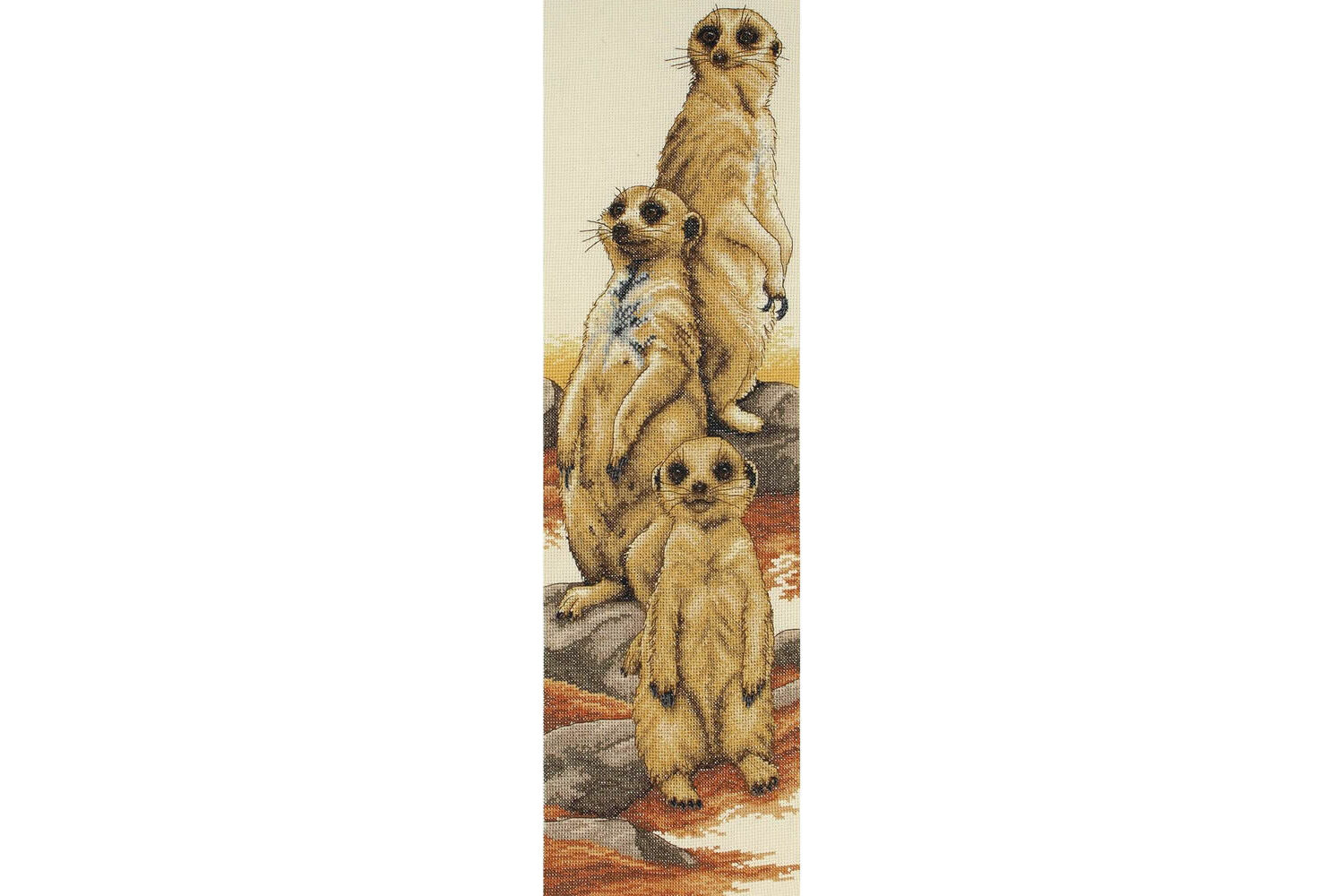 Cross Stitch Chart Kit Meerkat