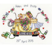Just Married (Margaret Sherry) Cross Stitch Kit