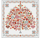 Happy Christmas Tree Cross Stitch Kit