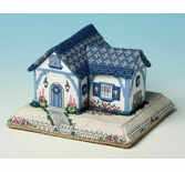Seashells Seaside Bungalow 3D Cross Stitch Kit
