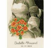 The Bouquet Wedding Sampler Cross Stitch Kit