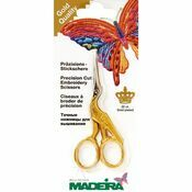 Gold Plated Stork Embroidery Scissors