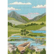 Mountain Spring Long Stitch Kit