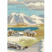 Mountain Winter Long Stitch Kit