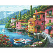 Lakeside Village Cross Stitch Kit