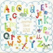 Alphabet Birth Cross Stitch Record Kit