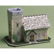 The Church 3D Cross Stitch Kit