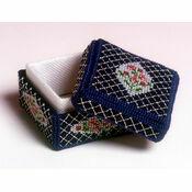 Rosebud Box 3D Cross Stitch Kit