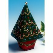Medium Christmas Tree 3D Cross Stitch Kit