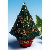 Small Christmas Tree 3D Cross Stitch Kit