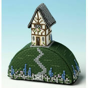 Gardeners World Paperweight 3D Cross Stitch Kit