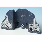 Bethlehem Night Card 3D Cross Stitch Kit