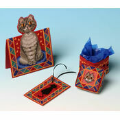Peeping Tom Gift Set Trio 3D Cross Stitch Kit