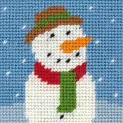 Frosty Children's Christmas Tapestry Kit