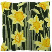 Daffodils Herb Pillow Tapestry Kit