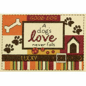 A Dog\'s Love Cross Stitch Kit