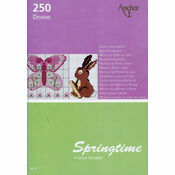 Springtime Cross Stitch Chart Book