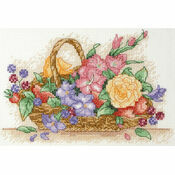 Flower Basket Cross Stitch Starter Kit