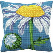 Margueritte Cushion Panel Cross Stitch Kit