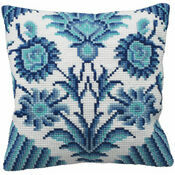 Zelliges Right Cushion Panel Cross Stitch Kit