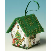 Cinderella Pantomime House 3D Cross Stitch Kit