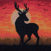Majestic Sunset Cross Stitch Kit