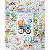 Baby ABC Cross Stitch Kit