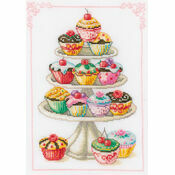 Cupcake Anyone? Cross Stitch Kit